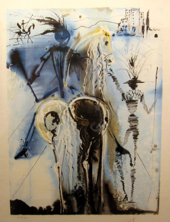 don-quixote by Dali