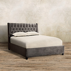 devereaux tufted bed